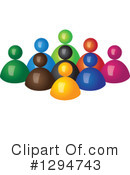 Teamwork Clipart #1294743 by ColorMagic