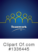 Teamwork Clipart #1336445 by ColorMagic