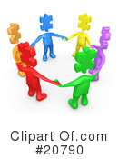 Teamwork Clipart #20790 by 3poD