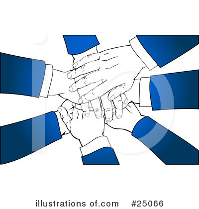 Handshake Clipart #25066 by Tonis Pan