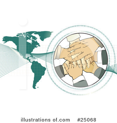 Handshake Clipart #25068 by Tonis Pan