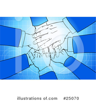 Royalty-Free (RF) Teamwork Clipart Illustration by Tonis Pan - Stock Sample #25070