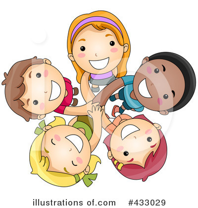Royalty-Free (RF) Teamwork Clipart Illustration by BNP Design Studio - Stock Sample #433029