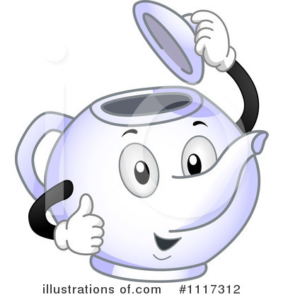 Royalty-Free (RF) Teapot Clipart Illustration by BNP Design Studio - Stock Sample #1117312