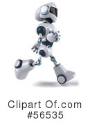 Techno Robot Character Clipart #56535