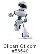 Techno Robot Character Clipart #56540