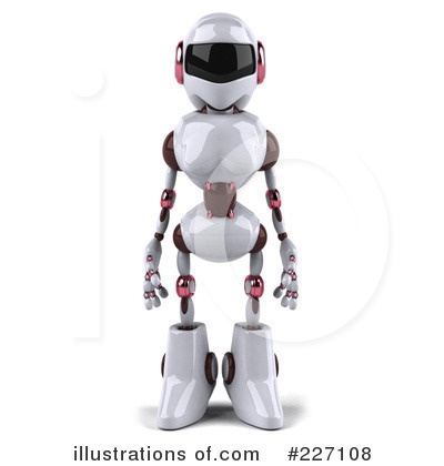 Robot Clipart #227108 by Julos