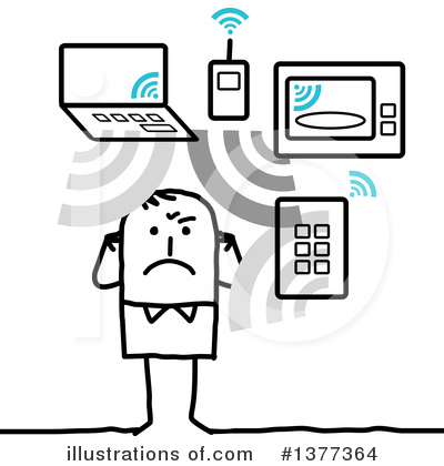 Royalty-Free (RF) Technology Clipart Illustration by NL shop - Stock Sample #1377364