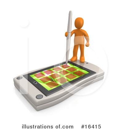 Communications Clipart #16415 by 3poD
