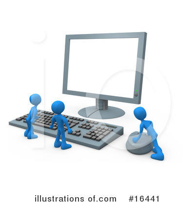 Computer Repair Clipart #16441 by 3poD