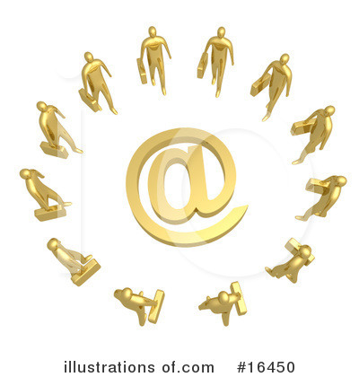 Communications Clipart #16450 by 3poD