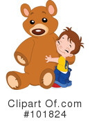 Royalty-Free (RF) teddy bear Clipart Illustration #101824