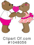 Royalty-Free (RF) teddy bear Clipart Illustration #1048056