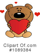 Royalty-Free (RF) teddy bear Clipart Illustration #1089384