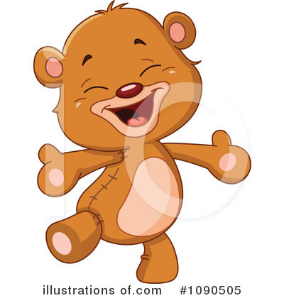 Teddy Bear Clipart #1090505 by yayayoyo