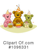 Royalty-Free (RF) Teddy Bear Clipart Illustration #1096331