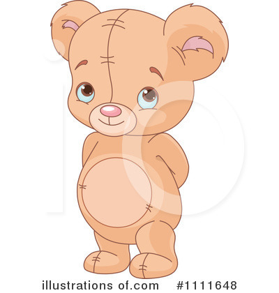 Teddy Bear Clipart #1111648 by Pushkin