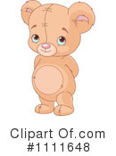 Royalty-Free (RF) Teddy Bear Clipart Illustration #1111648