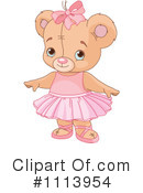 Royalty-Free (RF) Teddy Bear Clipart Illustration #1113954