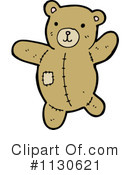 Royalty-Free (RF) teddy bear Clipart Illustration #1130621