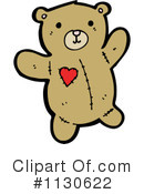 Royalty-Free (RF) teddy bear Clipart Illustration #1130622