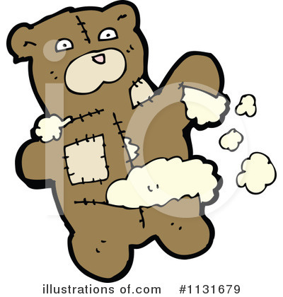 Teddy Bear Clipart #1131679 by lineartestpilot