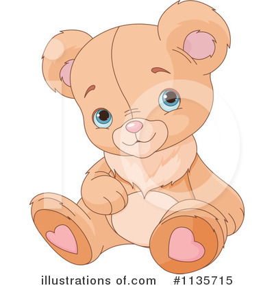 Teddy Bear Clipart #1135715 by Pushkin