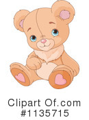 Royalty-Free (RF) teddy bear Clipart Illustration #1135715