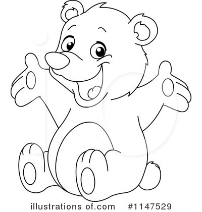 Teddy Bear Clipart #1147529 by yayayoyo