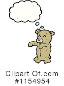 Teddy Bear Clipart #1154954 by lineartestpilot