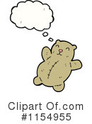 Teddy Bear Clipart #1154955 by lineartestpilot