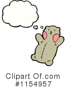 Teddy Bear Clipart #1154957 by lineartestpilot
