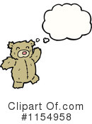 Teddy Bear Clipart #1154958 by lineartestpilot