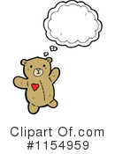 Teddy Bear Clipart #1154959 by lineartestpilot