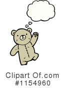 Teddy Bear Clipart #1154960 by lineartestpilot