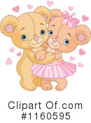 Royalty-Free (RF) teddy bear Clipart Illustration #1160595