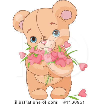 Teddy Bear Clipart #1160951 by Pushkin