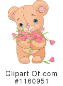 Royalty-Free (RF) teddy bear Clipart Illustration #1160951