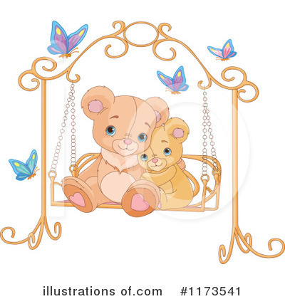 Teddy Bear Clipart #1173541 by Pushkin