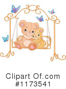 Royalty-Free (RF) Teddy Bear Clipart Illustration #1173541
