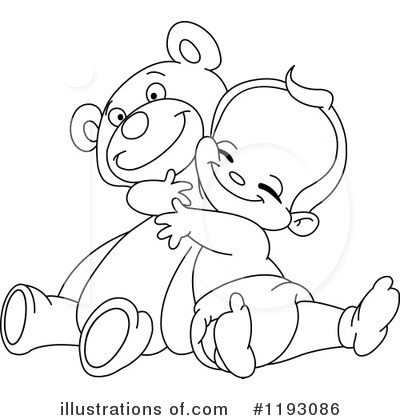Teddy Bear Clipart #1193086 by yayayoyo