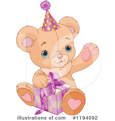 Teddy Bear Clipart #1194092 by Pushkin