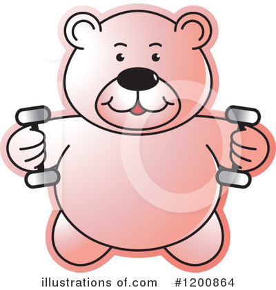 Weightlifting Clipart #1200864 by Lal Perera