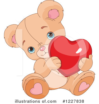Teddy Bear Clipart #1227838 by Pushkin