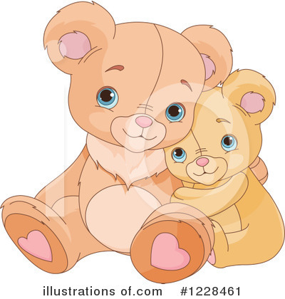 Teddy Bear Clipart #1228461 by Pushkin