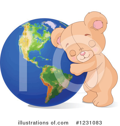 Teddy Bear Clipart #1231083 by Pushkin