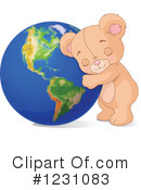 Royalty-Free (RF) Teddy Bear Clipart Illustration #1231083