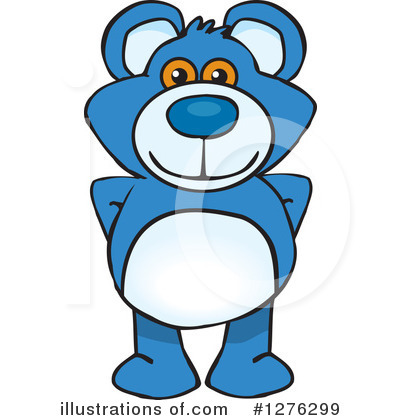 Bear Clipart #1276299 by Dennis Holmes Designs