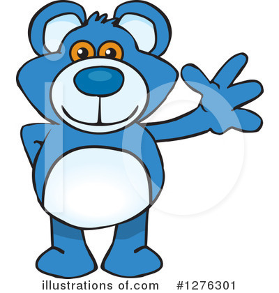 Bear Clipart #1276301 by Dennis Holmes Designs