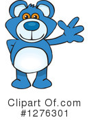 Royalty-Free (RF) Teddy Bear Clipart Illustration #1276301